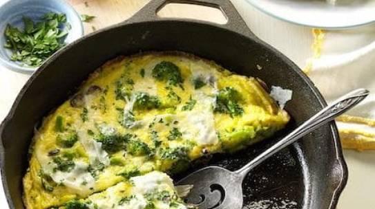 Yüksek Proteinli Omlet